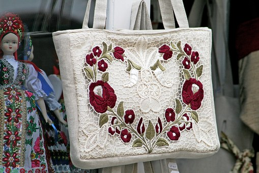 Damska torba na zakupy