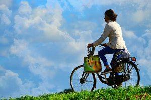 Zdrowa jazda na rowerze turystycznym