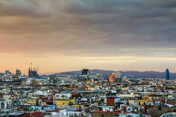 Hiszpańska sjesta w Barcelonie