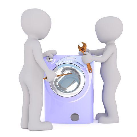 Do zepsutej pralki wezwij serwisanta