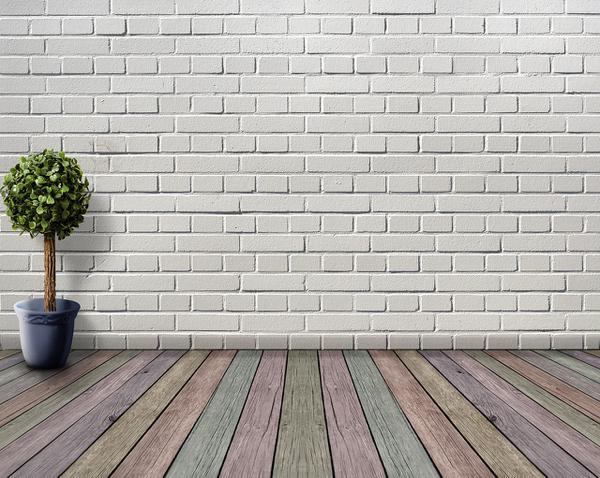 listwa podłogowa biała ze wzorem