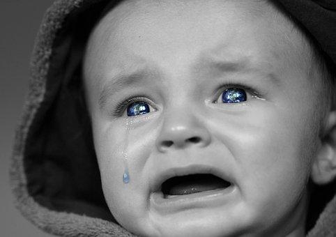silna kolka u niemowlaka - co robić