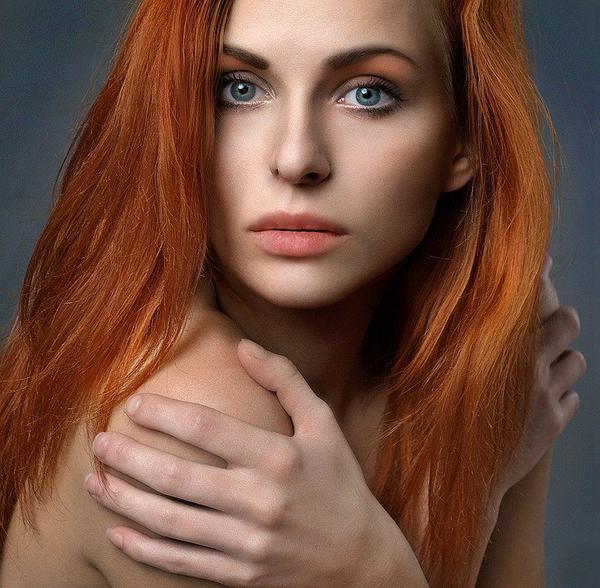 unikatowe włosy europejskie